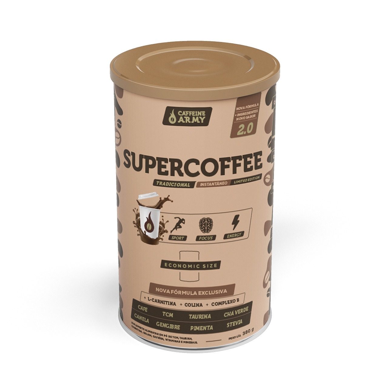 SUPERCOFFEE 2.0 ECONOMIC SIZE 380G